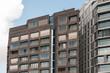 canvas print picture - Ein modernes Haus in Amsterdam