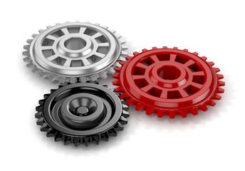 gears. 3d render