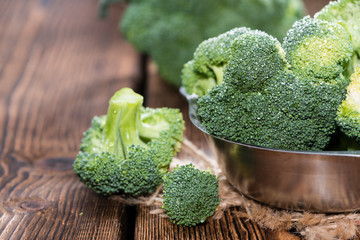 Raw Broccoli