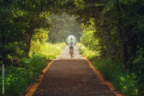 canvas print picture tunnel
