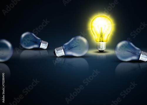 canvas print picture Lampen kreativ