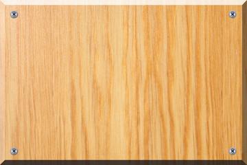 Namenschild aus Holz