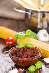 Fresh made Tomato Pesto