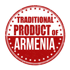 Traditional product of Armenia stamp