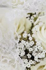 Wedding bouquet, close up.