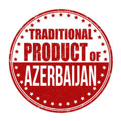 Traditional product of Azerbaijan stamp