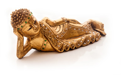 Buddha lying down