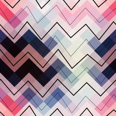 Geometric chevron pattern.