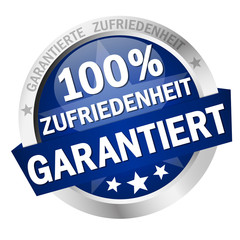 Button - 100% ZUFRIEDENHEIT GARANTIERT