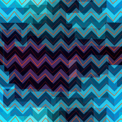 Geometric chevron pattern.