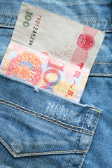 jeans and cash