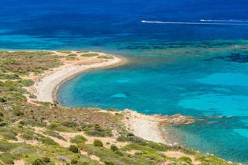 Punta Porceddu beach. Sardinia island. Italy