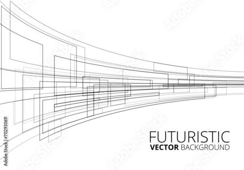 White Futuristic - 70293069