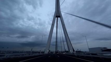 首都高速 湾岸線 鶴見つばさ橋