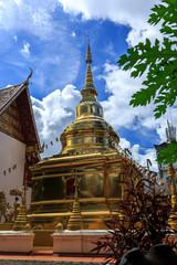 Wat Phra Sing temple in Chiang Rai, Thailand