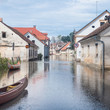Flooded street - 70294283