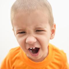 Рассерженный ребенок