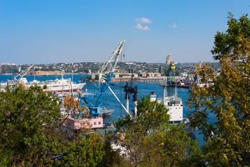 Ships in Sevastopol