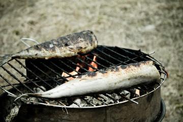 рыбка жаренная