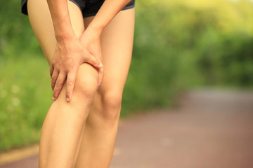 woman runner sports injury