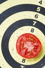 tomato on target