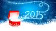 Christmas gift 2015. Vector