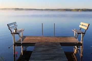 lake by morning