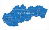 Slovakia map