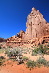 Park Avenue - Arches National Park (Utah)
