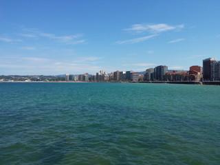 Paseo marítimo Gijón, Asturias
