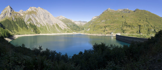 Morasco lake in Formazza valley, Italy