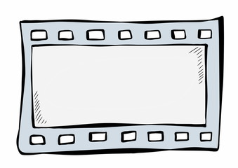 doodle film strip