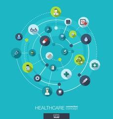 Healthcare connection concept.