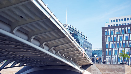 Modern architecture details background