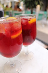Sangria at Valencia