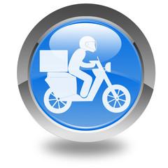 scooter de livraison rapide sur bouton