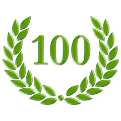 100 grün