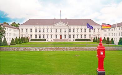 Sitz des Bundespräsidenten: Schloss Bellevue in Berlin
