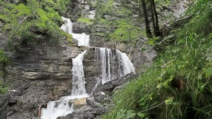 Kuhfluchtwasserfaelle at Farchant Bavaria Germany