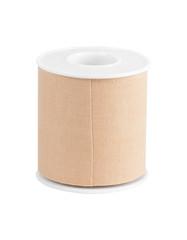 Roll of medical sticking plaster on white