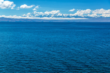 Andes and Lake Titicaca