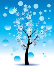 Decorative Winter Tree