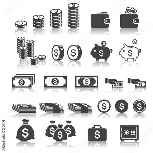 money icon poster