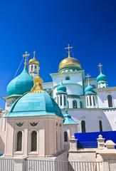 Great monasteries of Russia. New Jerusalem monastery, Istra.