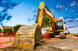 Excavator on a construction site - 70307811