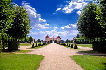 Schloss Moritzburg Eingang