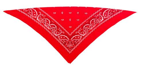classic red  bandanna (kerchief)