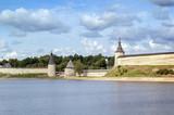 view of Pskov Krom poster