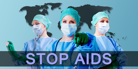 stop aids hiv virus