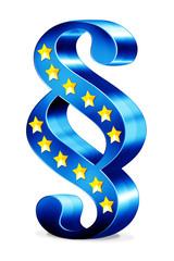 3d Paragraph - EU-Recht, Europäische Union, freigestellt